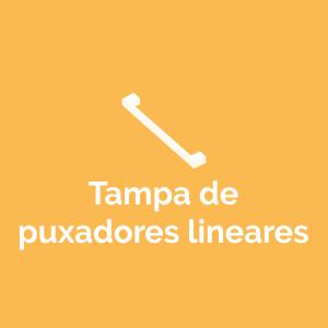 Tampa de puxadores lineares