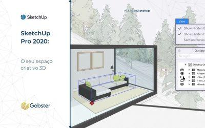 SketchUp Pro 2020: o seu espaço criativo 3D