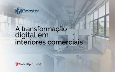 A transformação digital em interiores comerciais