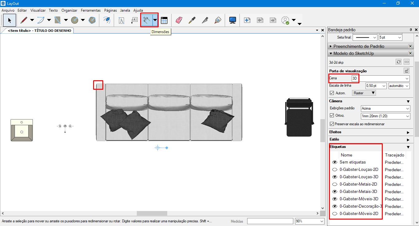 gabster 3d layout sketchup