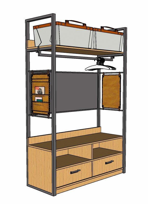 gabster-imagem-armario-feito-no-sketchup-sketchUp-para-design-de-moveis