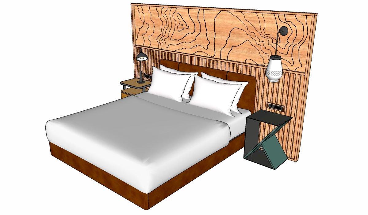 gabster-imagem-cama-sketchUp-para-design-de-moveis