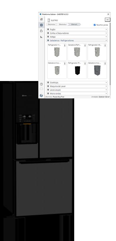 Geladeira Electrolux na Plataforma Gabster