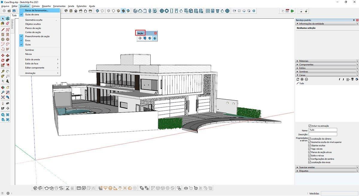 gabster-imagem-passo-1-cortes-e-vistas-2D-no-sketchUp