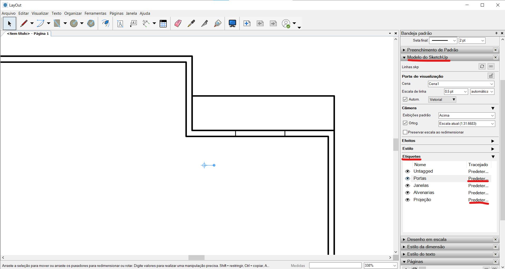 gabster-imagem-estilos-espessuras-migração-do-CAD-2D-para-o-SketchUp