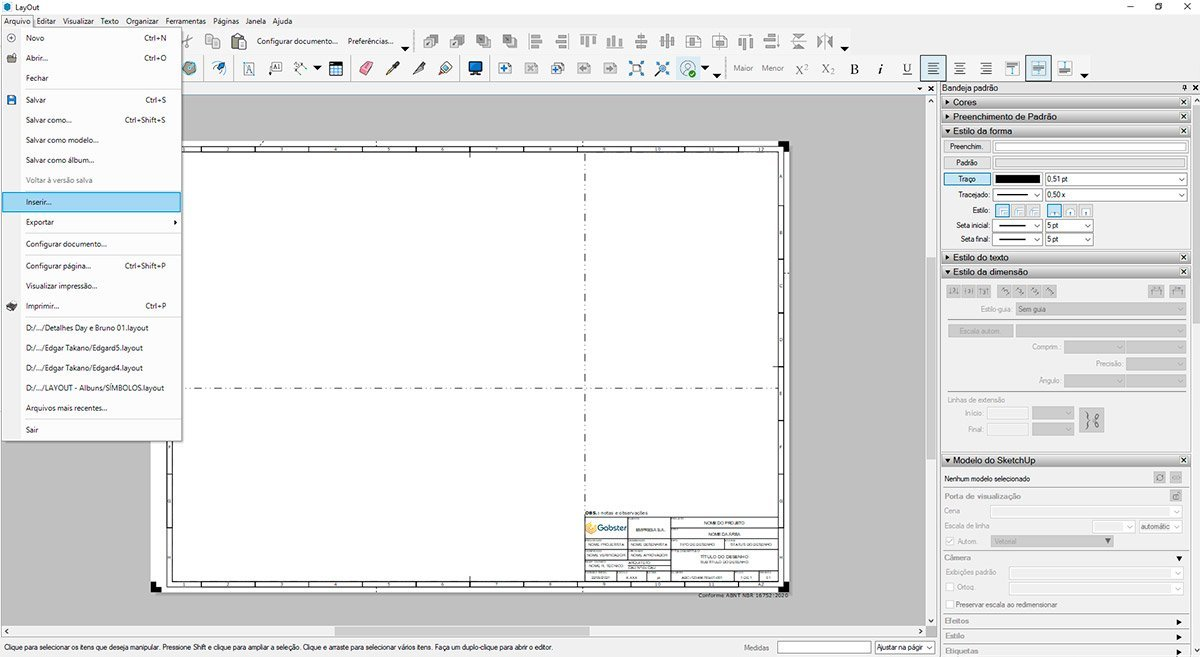 gabster-imagem-passo-6-cortes-e-vistas-2D-no-sketchUp