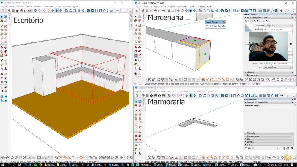 gabster-imagem-trimble-connect-blocos-sketchup-para-marcenarias