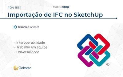 Importando formato IFC no SketchUp como referência do Trimble Connect