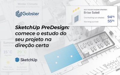 SketchUp e PreDesign: comece o estudo do seu projeto na direção certa